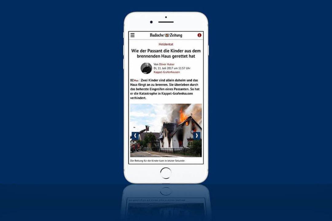 Der Relaunch der Website der Badischen...uf mobilen Geräten besser nutzbar ist.  | Foto: bz