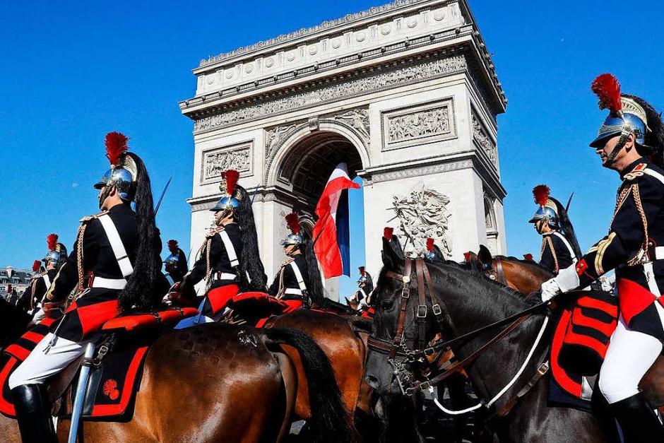 """Die """"Garde républicaine"""" (Foto: AFP)"""