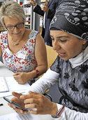 Deutsch lernen am Smartphone