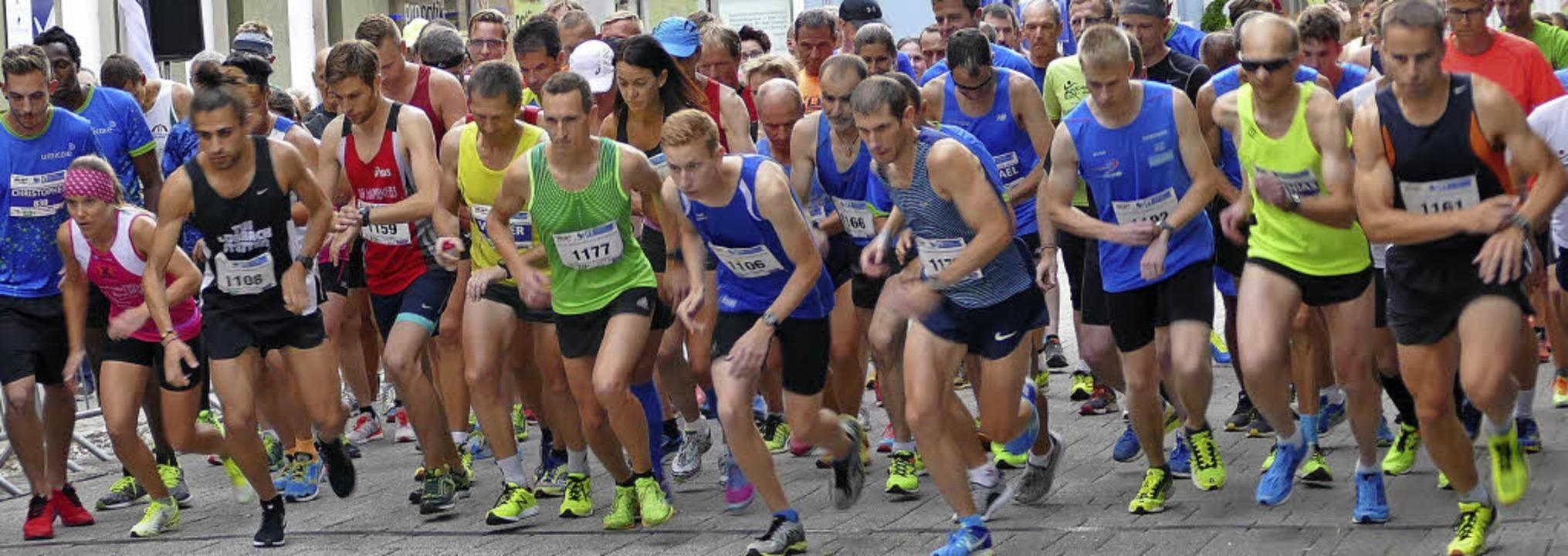 Beim Grand Prix starteten viele Läufer...eq und Jeannine Kaskel (Bilder unten)   | Foto: DAvid rutschmann