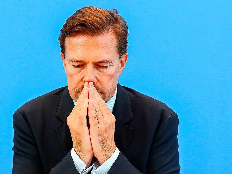 Regierungssprecher Steffen Seibert  | Foto: dpa