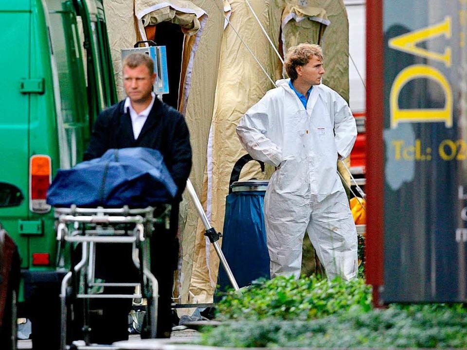 Mafia-Attentat in Duisburg im Jahr 2007  | Foto: Archiv: dpa