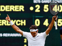 Noch ein Sieg fehlt Roger Federer zum neuen Rekord