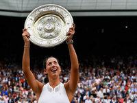 Garbiñe Muguruza gewinnt ersten Titel in Wimbledon