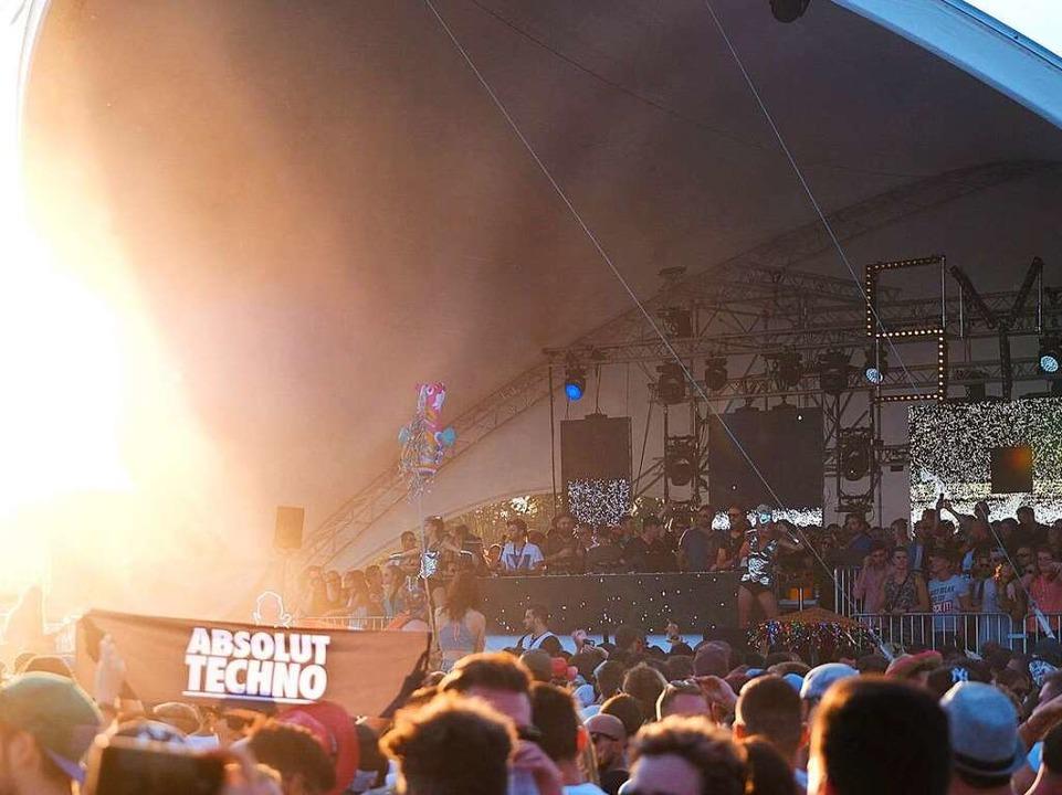 Partystimmung beim Sea-You-Festival    Foto: Miroslav Dakov