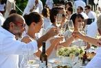 Fotos: Dinner in weiß im Seepark