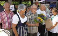 Gartenfreunde Wehr feiern vier Jubiläen