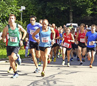 Rennen mit Ein- und Aussichten