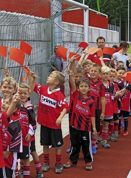 <ppp> dazu trugen insbesondere die vielen Nachwuchssportler bei. </ppp>  | Foto: Erhard Morath