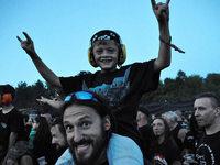 """Südbadens Metal-Fans rocken bei """"Baden in Blut"""""""