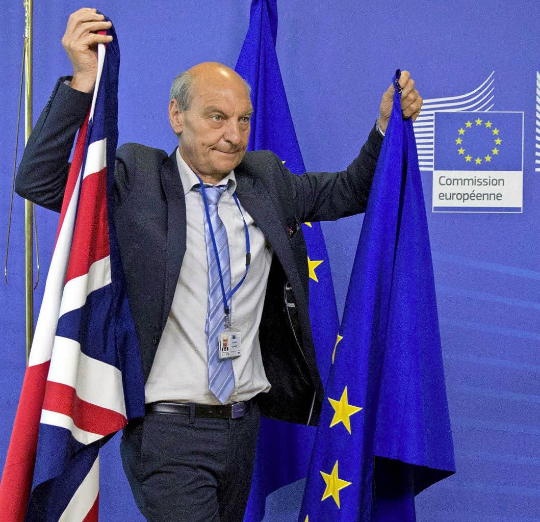 Brexit-Verhandlungen gestartet -