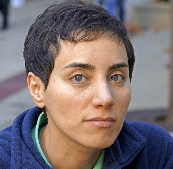 Maryam Mirzakhani   | Foto: dpa