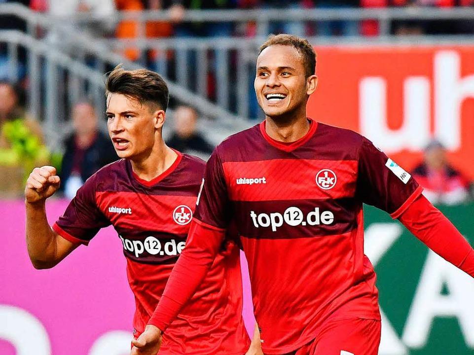 Robin Koch (links) würde gern nach Fre..., doch der FCK lässt ihn nicht ziehen.  | Foto: Uwe Anspach