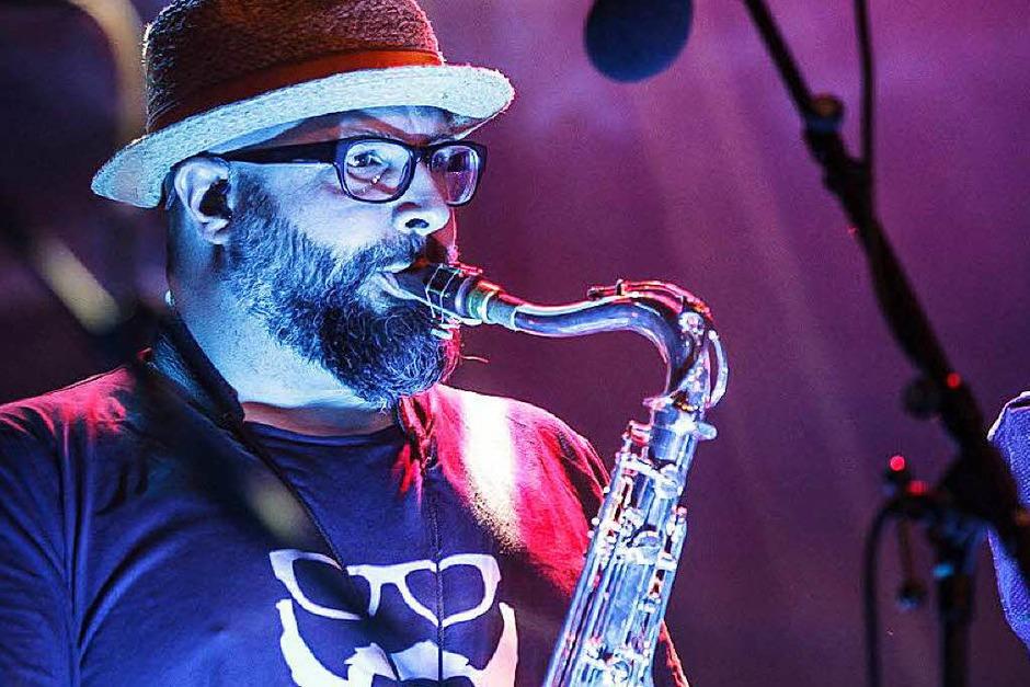 Gregor Meyle & Band auf dem ZMF (Foto: Janos Ruf)
