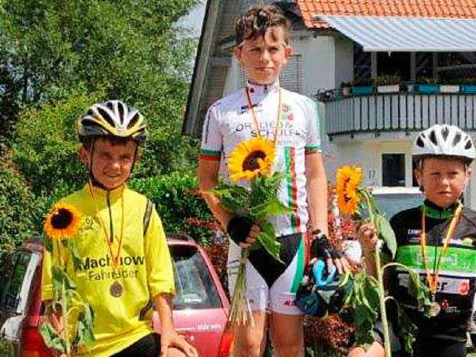 Erfolgreich beim Radrennen    Foto: Frowalt janzer