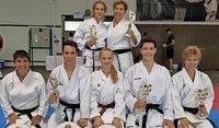 Erfolgreich bei Karatemeisterschaften