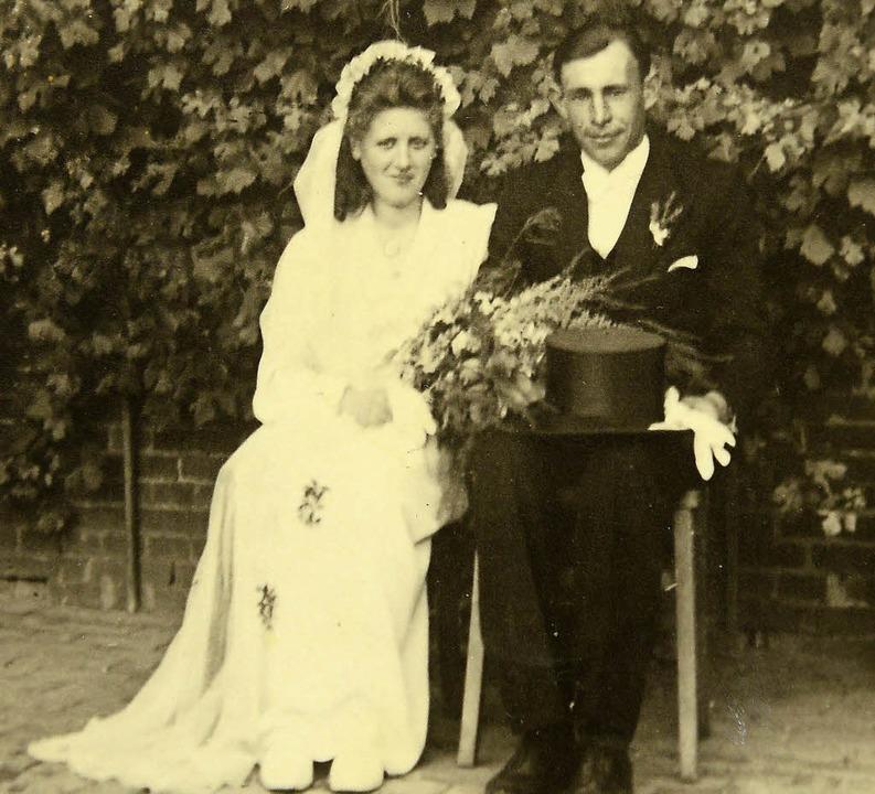 Die Clausens am 18. Juli  1947  | Foto: privat