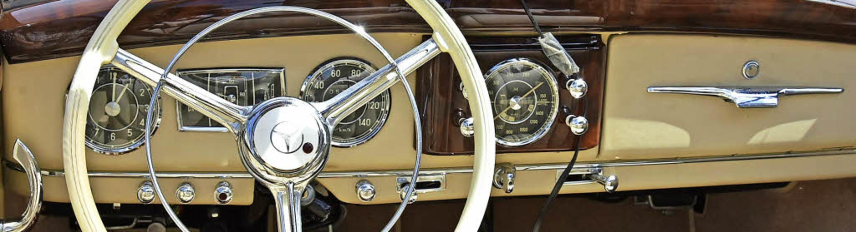 Ein Mercedes 170 S Caprio, Baujahr 194...inerzeit für rund 15000 Mark zu haben.  | Foto: Andrea Steinhart