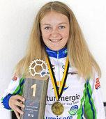 Tina Kreiter will Gold