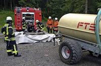 Feuerwehr übt am Notschrei