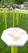 Installationen im Kurpark