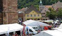 Events sorgen für Platzmangel auf dem Münstermarkt
