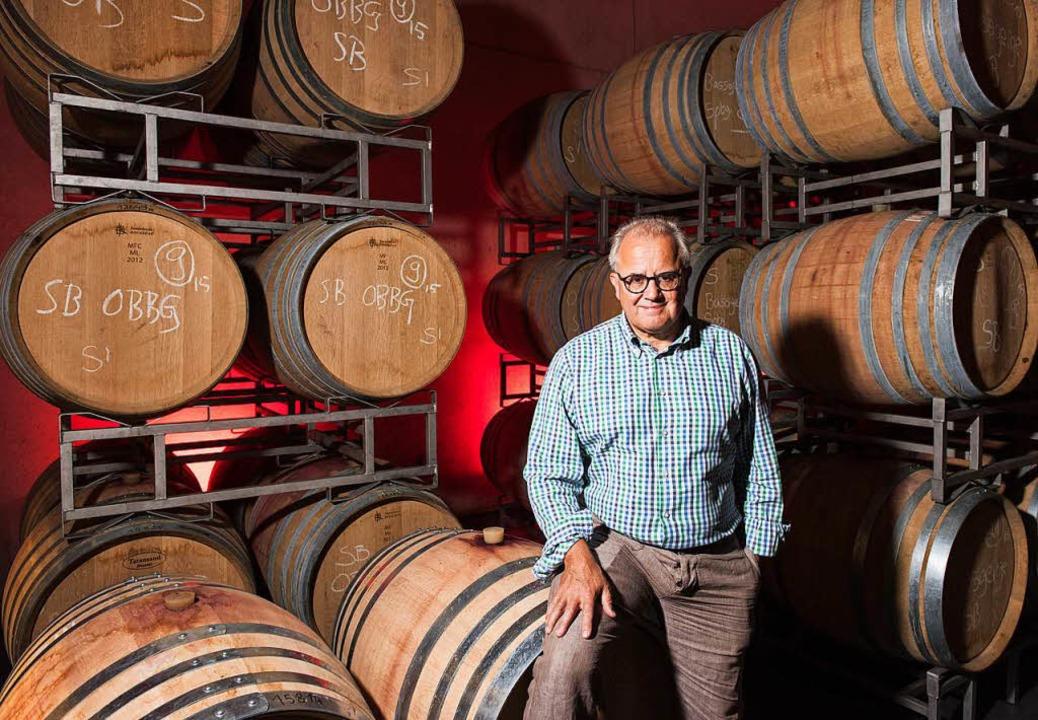 Fritz Keller eröffnet Weinwirtschaft in Stuttgarter Hotel.  | Foto: Patrick Seeger