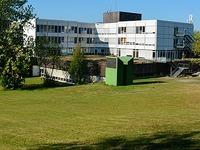 Wird das Spital durch ein Haus in Fertigbauweise ersetzt?