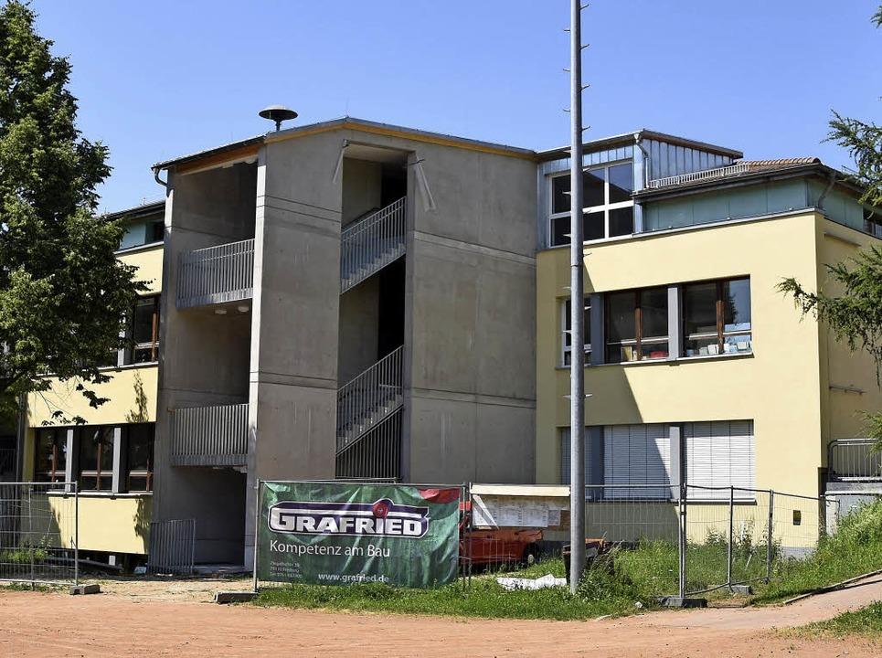 Der zweite fluchtweg ein neues treppenhaus foto lisa blitz
