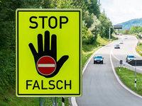 Zahl der Falschfahrer-Unfälle mit Verletzten im Land steigt