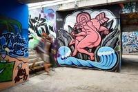 Hat Freiburg ein Problem mit Graffiti?