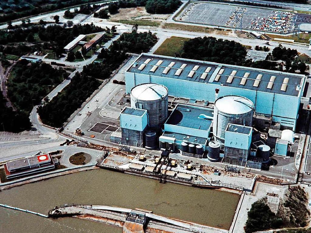Französisches Atomkraftwerk Fessenheim für mehrere Wochen außer Betrieb