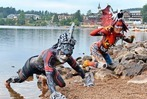 Fotos: Kunst auf Körpern beim Bodypainting-Festival am Titisee