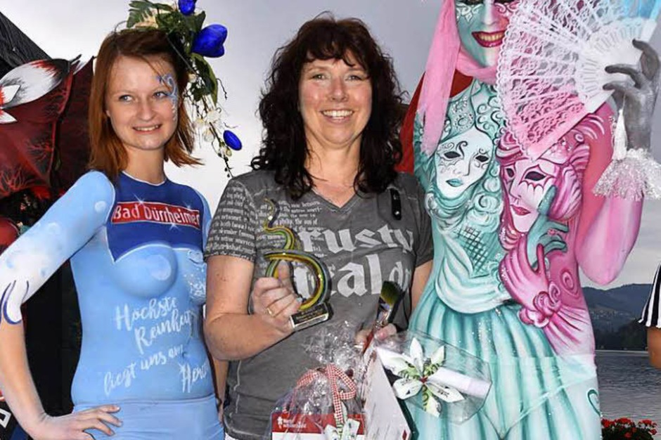 Bodypainting-Festival am Titisee. (Foto: Philippe Thines)