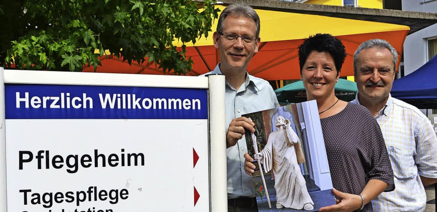 Zehn Jahre Bürgerheim: Christoph Dürdo...einz Huber, Leiter der Pflegedienste.     Foto: Paul Berger