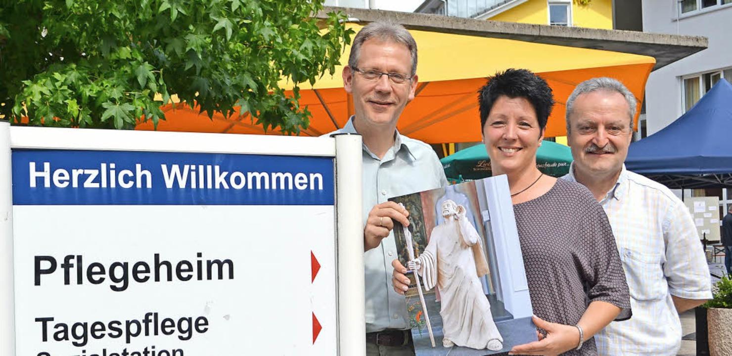 Zehn Jahre Bürgerheim Zell: Christoph ...einz Huber, Leiter der Pflegedienste.     Foto: Paul Berger