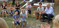 Abschied von Klaus Worms als fröhliches Fest mit den Kindern