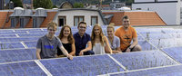 Angell-Schüler lernen in Unternehmen, wie man nachhaltig wirtschaften kann