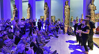 Die Freiburger Museumsnacht 2017 endet mit einem Besucherrekord