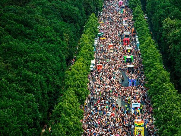 Christopher Street Day 2017 in Berlin
