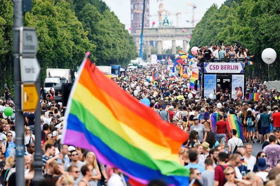 Christopher Street Day 2017 in Berlin (Foto: dpa)
