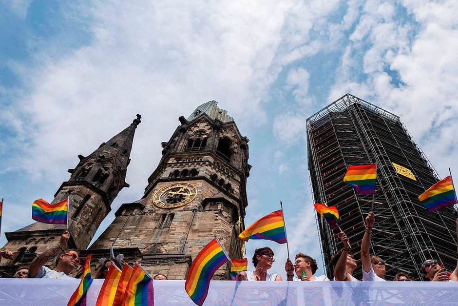 Christopher Street Day 2017 in Berlin (Foto: AFP)