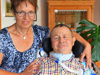 Eingeschlossen im eigenen Körper: Südbadener leidet am Locked-in-Syndrom
