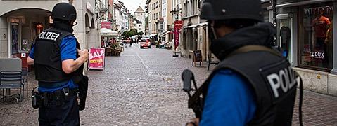 Unbekannter greift in Schaffhausen Menschen mit Motorsäge an - Polizei meldet fünf Verletzte