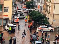 Kettensäge-Attacke: Schweizer Täter im Grenzgebiet flüchtig
