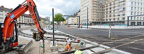 Neue Baustellen sorgen in Freiburg für neue Staus