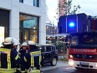 Feuerwehr kämpft gegen Wasser in Lörracher Hotel