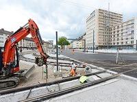Neue Baustellen sorgen in Freiburg für noch mehr Staus