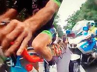 """Villinger Radsportler Duffner: """"Der Polizist fuhr wie eine Wildsau"""""""