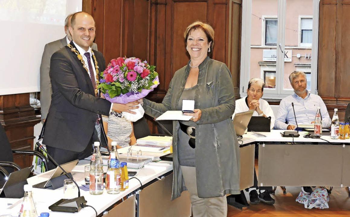 Seit dem Jahr 2009 im Gemeinderat war ...chtungen als Landtagsabgeordnete auf.   | Foto: Sredniawa